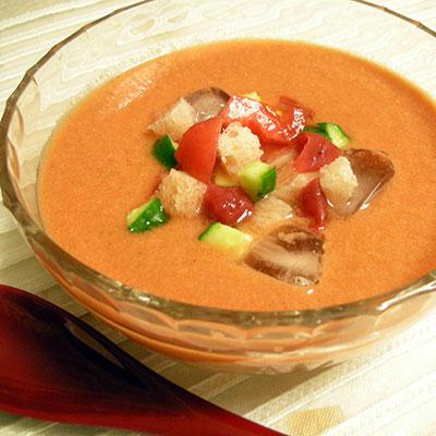 ガスパチョ風冷しスープ
