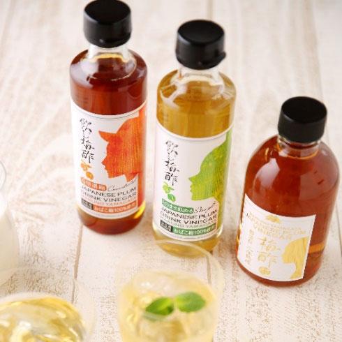 おばこ梅の梅酢の原酢