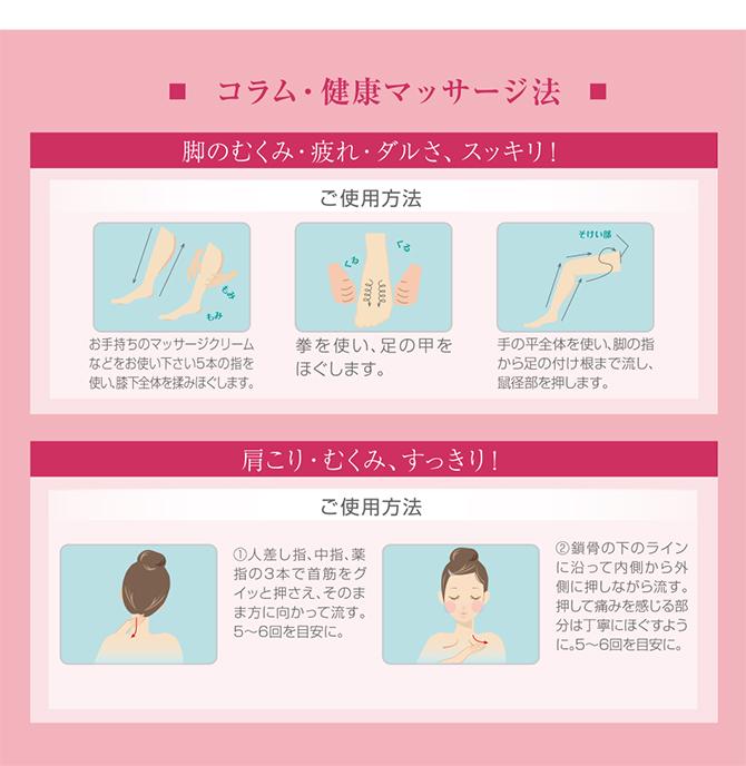 健康マッサージ法