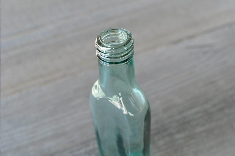 平たい アンティークボトル