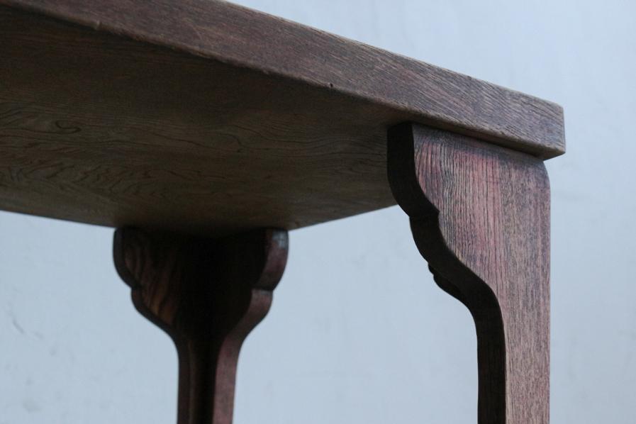 アンティークの日本のデザインのコーヒーテーブル