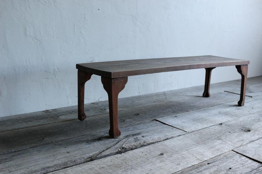 アンティークの大正ロマンなベンチになるコーヒーテーブル