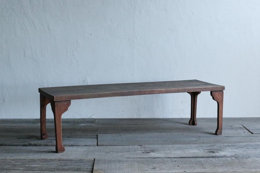 アンティークのミニマルな和のデザインのコーヒーテーブル