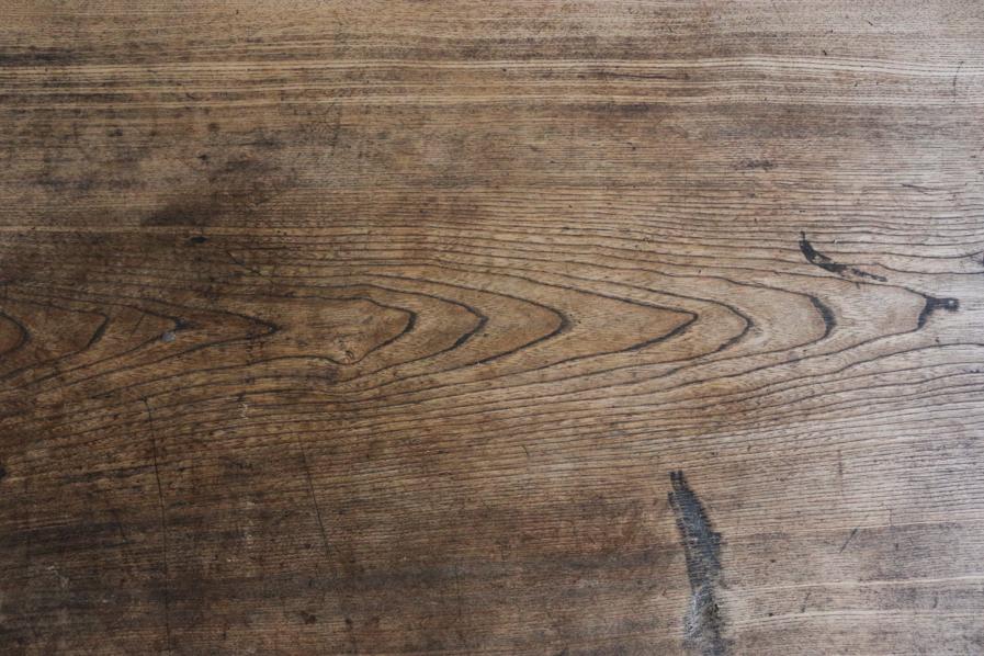 和のアンティークのクリ材のシンプルなコーヒーテーブル