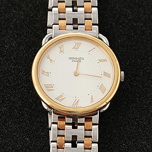 エルメス腕時計の電池交換