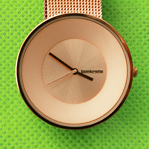 ランブレッタ腕時計の電池交換