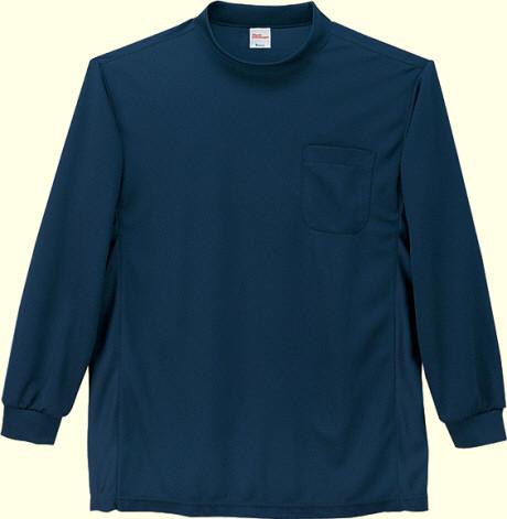47694長袖ローネックシャツ