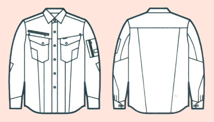 52804長袖シャツ
