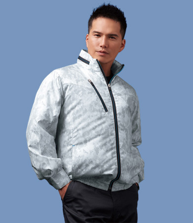 74050空調服長袖ブルゾンの画像。