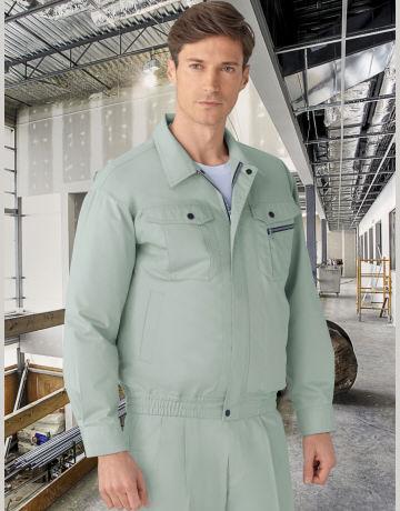 87040空調服長袖ブルゾンの画像。