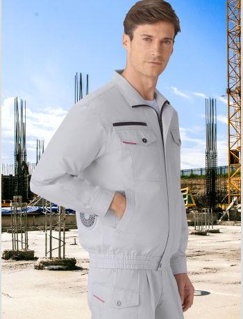 87050空調服長袖ブルゾンの画像。
