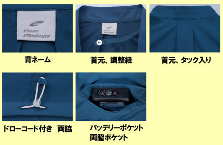 87510レディース空調服の画像。
