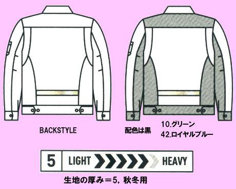 9071Rジャケットの画像