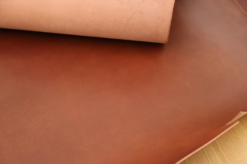 ピット層鞣しS004本ヌメ革_チョコ_詳細4761_R.JPG|革販売の和乃革