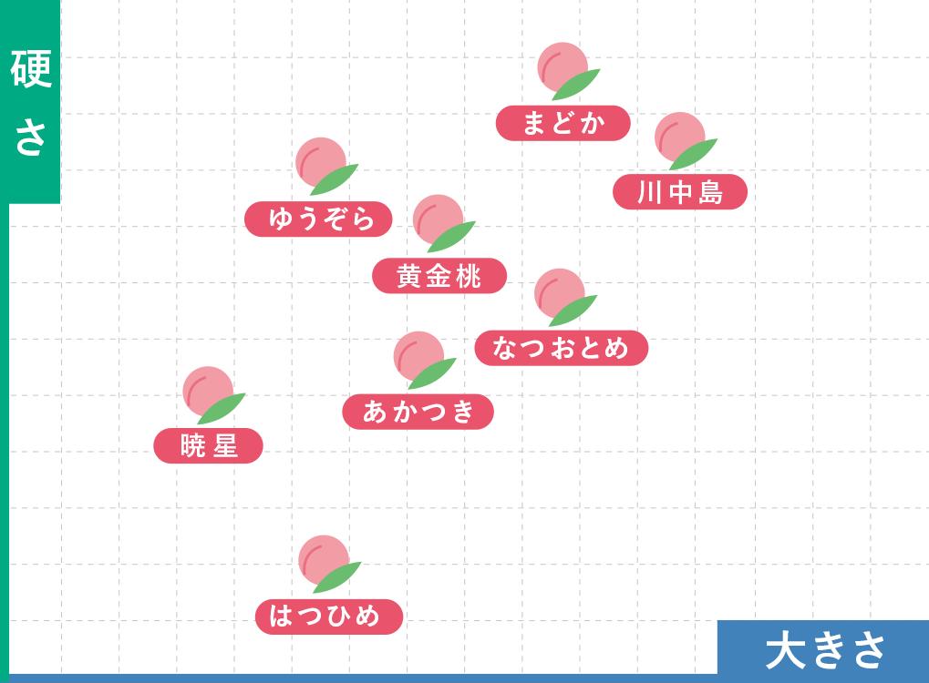桃の栽培品種