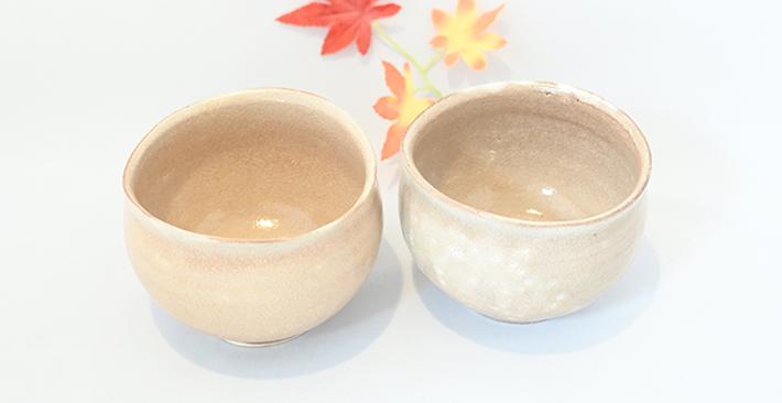 廣川温さんの桜釉のボウル