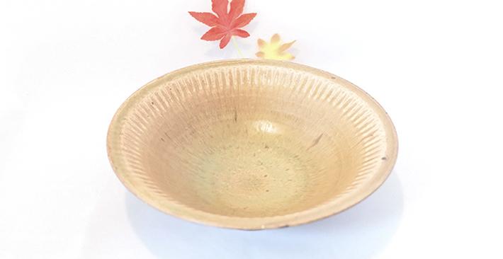 廣川温さんの7寸の翠釉のお鉢