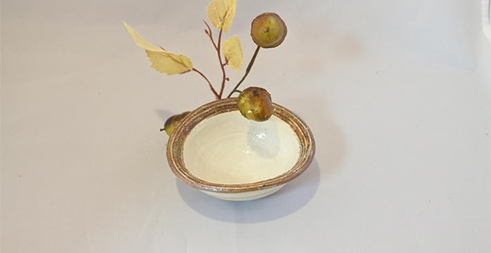 古谷製陶所渕荒横彫たわみ反豆鉢