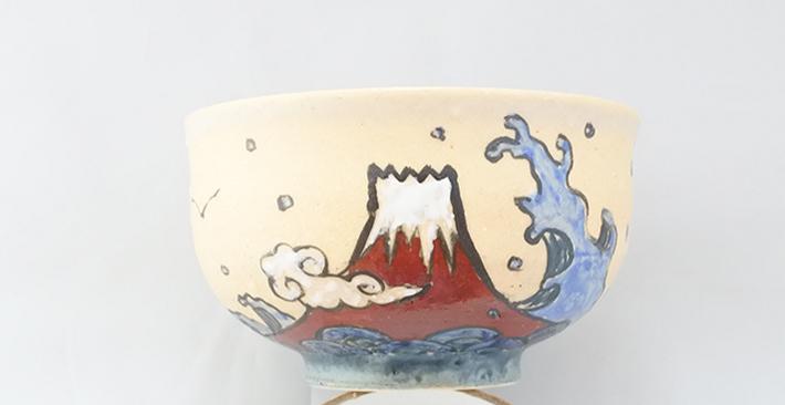 廣川みのり 魚と富士汁椀