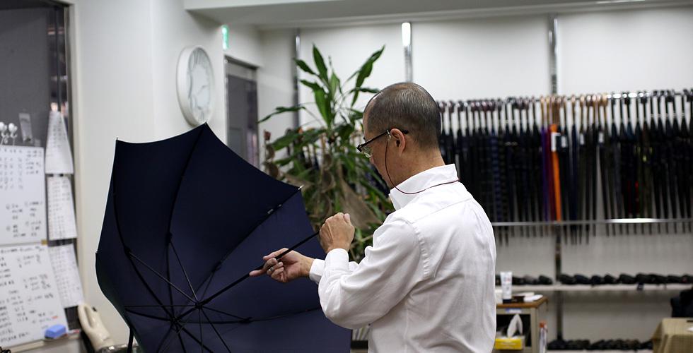 Ramuda(ラムダ) 傘製造工程 3