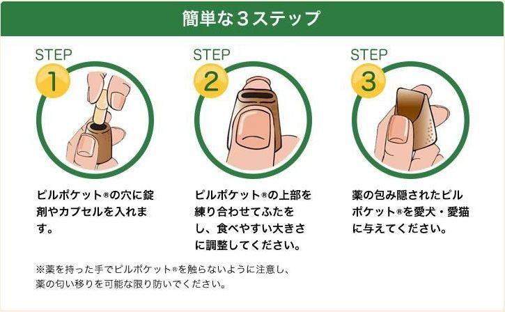 グリニーズ 獣医師専用 ピルポケット - 説明
