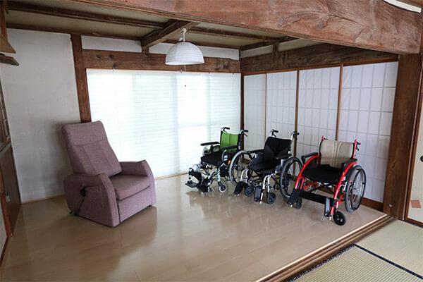 車椅子・介護椅子展示