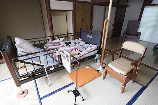 介護用ベッド展示