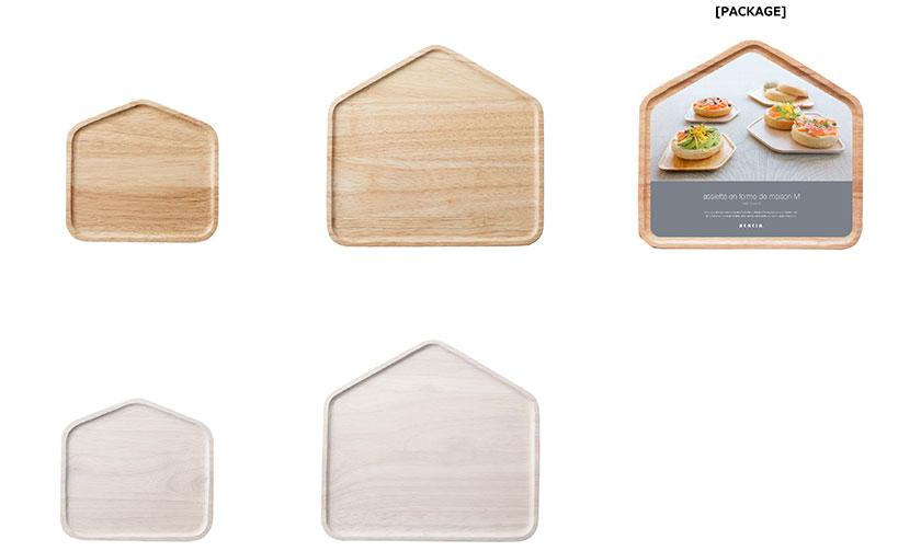 acacia HOUSE PLATE