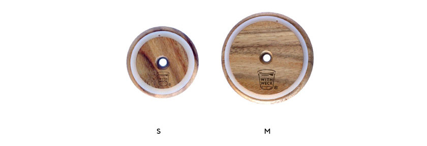 Wooden Lid with Hole