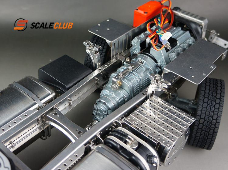 SCANIAR470 RTRモデルキット写真-4