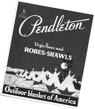 Pendleton Virgin fleece wool ROBES-SHAWLS The Outdoor blanket of America