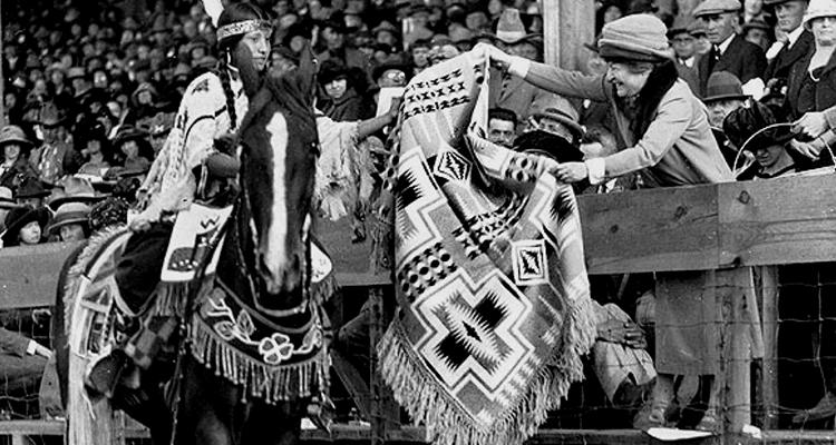 Indigenous Trading Blanket History