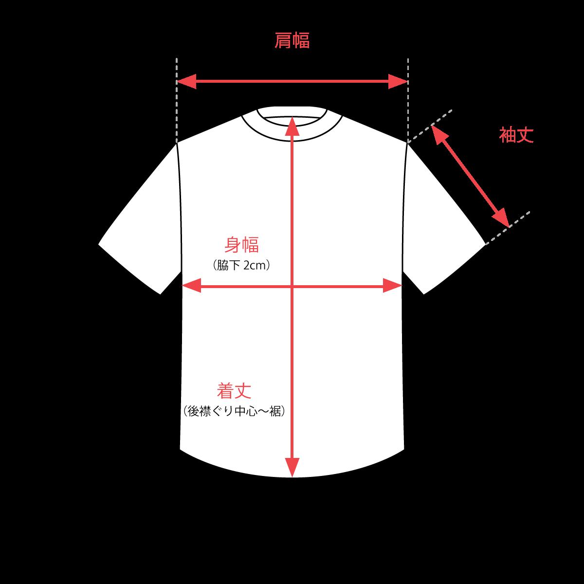 サイズガイド Tシャツ・カットソー