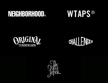 WTAPS,NEIGHBORHOOD,ORIGINAL TENDERLOIN, CHALLENGER, The Stylist Japan
