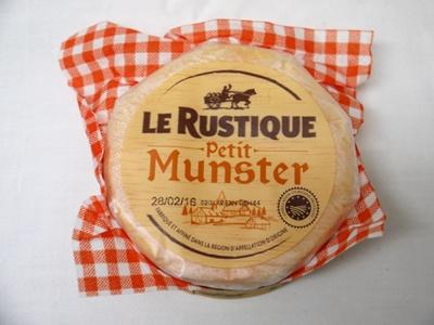 フランス産 チーズ プティマンステール ル・ルスティック 200g LE RUSTIQUE PETIT MUNSTER